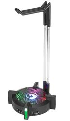 Marvo HZ-04 stojan na sluchátka, USB hub 3.0