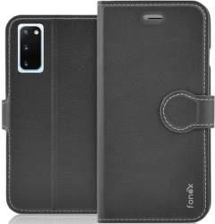 Fonex Identity flipové pouzdro pro Samsung Galaxy S20, černá