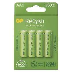GP ReCyko HR06 (AA) 2600 mAh 4 ks