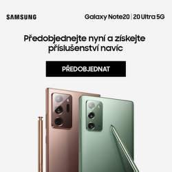 Dárek k předobjednávce Samsung Galaxy Note20 a 20 Ultra 5G