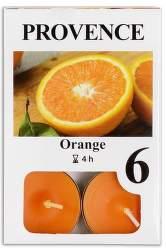 Provence Pomeranč vonná svíčka 6ks
