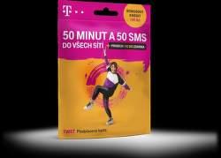 T-Mobile Twist SIM karta 50min/50 SMS