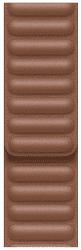 Apple Watch 44 mm kožený řemínek sedlově hnědý S/M