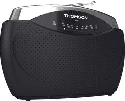 Thomson RT222 černo-stříbrné
