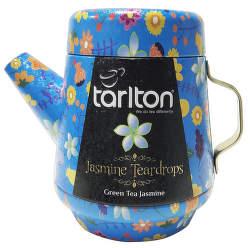 Tarlton Tea Pot Jasmine Teardrops 100g zelený čaj