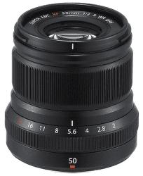 Fujifilm XF 50 mm f/2 R WR černý