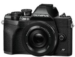 Olympus OM-D E-M10 Mark IV černý + 14-42 mm f/3,5-5,6 EZ-M1442EZ Pancake