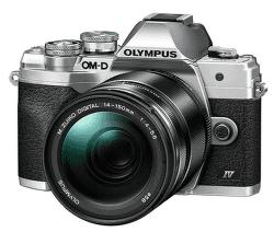 Olympus OM-D E-M10 Mark IV stříbrný + ED 14-150 mm f/4,0-5,6 II EZ
