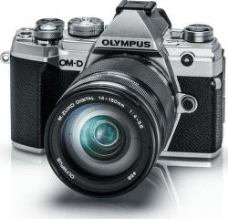 Olympus E-M5 Mark III + 14-150 mm EZ stříbrná