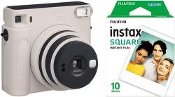 Fujifilm Instax Square SQ1 + 10 ks filmu bílý