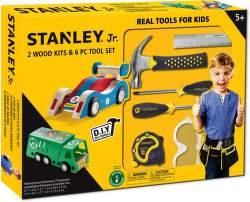 Stanley Jr. U003-K02-T06-SY sada 2 autíček a 6 kusů nářadí