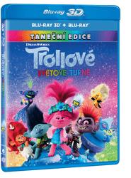 Trollové: Světové turné - 2x Blu-ray (3D+2D)