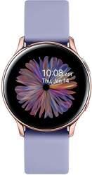 Samsung Galaxy Watch Active2 40 mm růžovo-zlaté s fialovým řemínkem