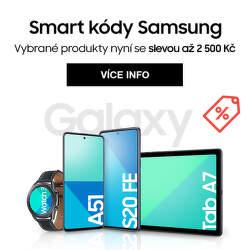 Extra slevy až 2 500 Kč na vybrané modely Samsung Galaxy