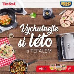 Léto s Tefalem - dárky k produktům Tefal nad 2 500 Kč