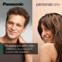 Sleva 20 % na produkty péče o tělo Panasonic