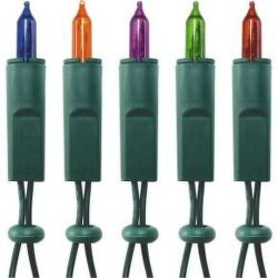 KI100 - barevné vánoční žárovky