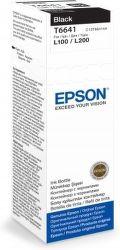 Epson T6641 black (70ml pro sérii L) - inkoustová náplň