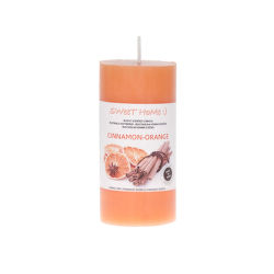 Sweet Home Pomeranč-skořice aromatická svíčka (220g)
