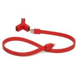 Tylt Y-Charge autonabíječka, červená