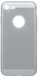 Mobilnet Sito pouzdro pro iPhone 7/8, stříbrná