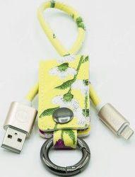 Mizoo K2-03i Lightning-USB klíčenka, žlutá