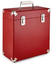 GPO 7 Inch Vinyl Case červený obal na vinyl