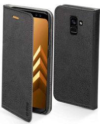 SBS Elegance knížkové pouzdro pro Samsung Galaxy A8 2018, černá