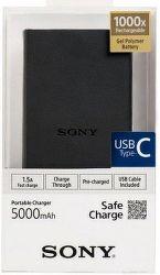 Sony CP-V5BBC powerbanka 5000 mAh, černá