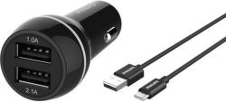 Philips DLP2357A/10 USB-C černá, autonabíječka