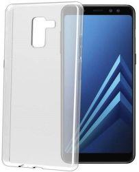 Celly Gelskin pouzdro pro Samsung Galaxy A8 2018, transparentní