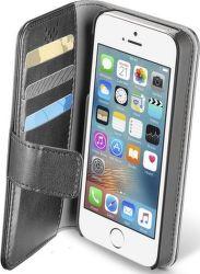 Cellular Line Book Agenda pouzdro pro iPhone 5S/SE, černá
