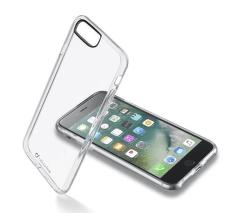 Cellular Line Clear Duo pouzdro pro iPhone 8 Plus/7 Plus, transparentní