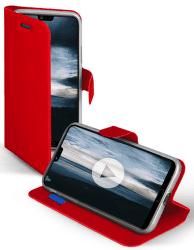 SBS Book Sense pouzdro pro Huawei P20, červená