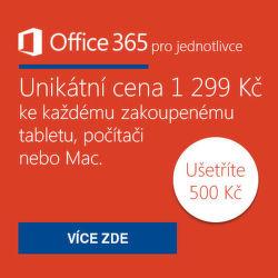 Office 365 se slevou za 1 299 Kč