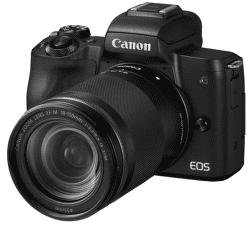 Canon EOS M50 černý + EF-M 18-150mm IS STM