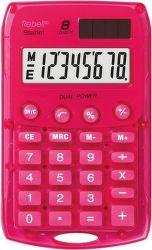 Rebell RE-StarletP BX kapesní kalkulačka růžová