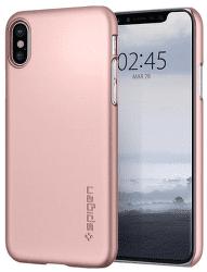 Spigen Thin Fit pouzdro pro Apple iPhone X, růžovo-zlaté