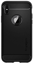Spigen Rugged Armor pouzdro pro iPhone X, černá