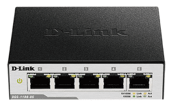 D-Link DGS-1100-05 - 1Gb 5-LAN switch