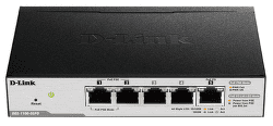 D-Link DGS-1100-05PD - 1Gb 5-LAN switch