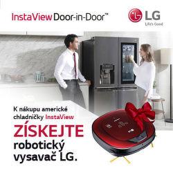 Získejte vysavač LG HOM-BOT k nákupu exkluzivní americké lednice LG
