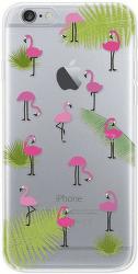 4-OK Cover 4U pouzdro pro iPhone 6/6S, motiv plameňáků