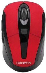 Canyon CNR-MSOW06R - Wireless optická myš USB (červená) - 1600dpi