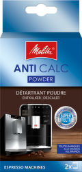Melita 1500804 Anti Calc odvápňovací prášek (2ks)