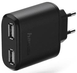 Hama 123546 2x USB síťová nabíječka