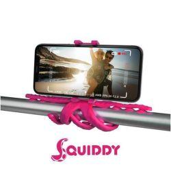 Celly Squiddy růžový, flexibilní držák
