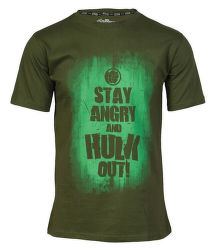 Marvel AVAS Hulk Slogan M zelené