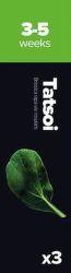 Plantui Tatsoi Brukev zelí čínské (3ks)