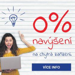 0% navýšení na všechny notebooky, tablety, mobily a další chytrá zařízení